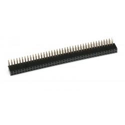 2X40 90 Derece Dişi Header Pin