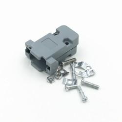 D-Sub 9 Pin Plastik Kapak