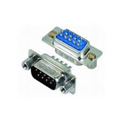 D-Sub 9 Pin Dişi Lehim Tipi Konnektör