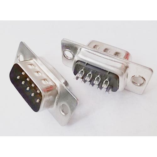 D-Sub 9 Pin Erkek Lehim Tipi Konnektör