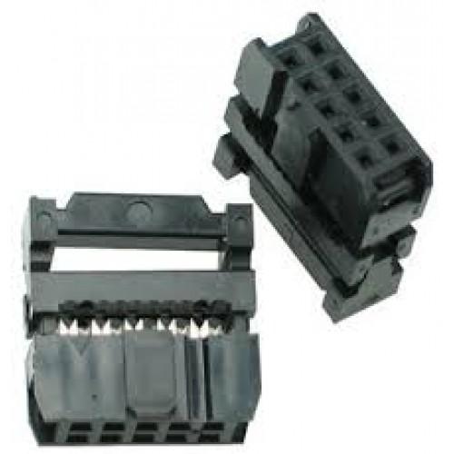 IDC Konnektör 10 Pin Dişi