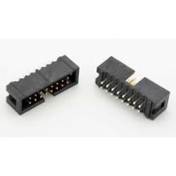 IDC Konnektör 16 Pin Erkek 180°