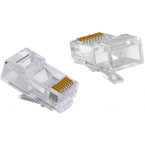Cat6 RJ45 plug ( Ethernet Konnektörü )