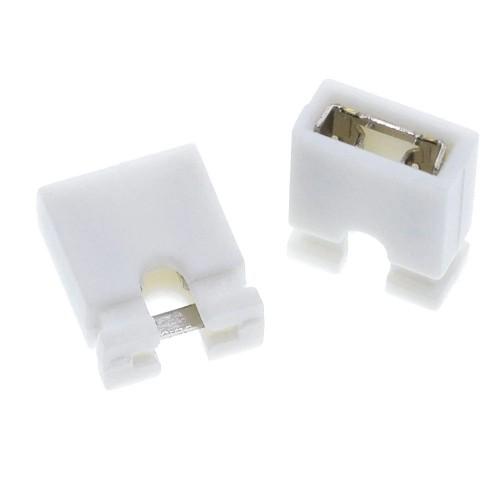 2 Pin Jumper Beyaz ( Kısa Devre Jumper )