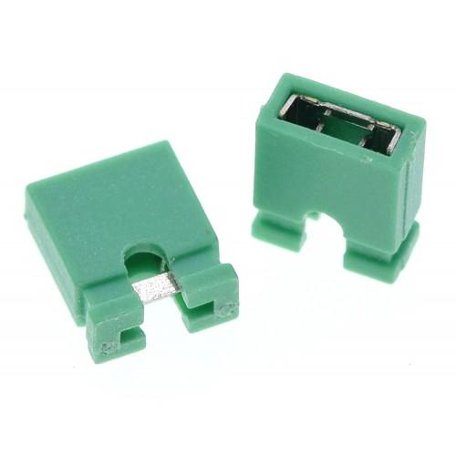 2 Pin Jumper Yeşil ( Kısa Devre Jumper )