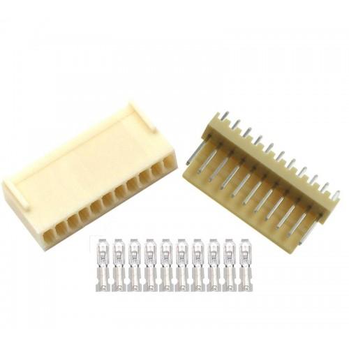 KF2510 11pin 180° Konnektör Takımı