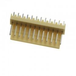 KF2510 12pin 180° Konnektör Erkek