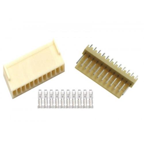 KF2510 12pin 180° Konnektör Takımı