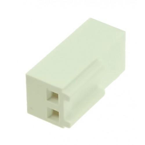 KF2510 2pin 180° Konnektör Dişi ( Pinsiz )
