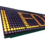 P6 Sarı İç Mekan Led Panel