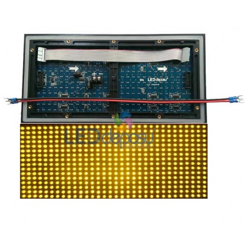 P10 Led Panel Sarı