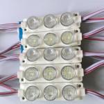 3W Lensli Modül Led Gün ışığı 10lu Bağ