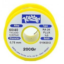 0.75mm 200 Gram Kurtel Lehim Teli