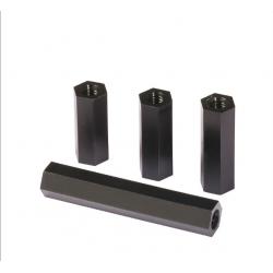 M3 Siyah Metal Dişi Dişi 5mm Distans