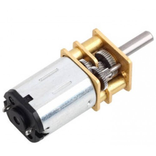 6 Volt 1000 Rpm Redüktörlü Mikro Dc Motor