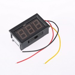 "DC Voltmetre 0 - 99 Volt 3 Digit 0.56"""