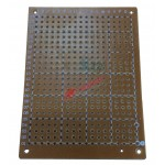 5X7 Bakırlı Delikli Plaket ( Üniversal Plaket )