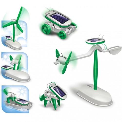 6 in 1 Solar Güneş Enerjisi Robot Eğitim Kiti