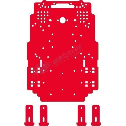 Basit Robot Gövdesi  ( Kırmızı Renk )