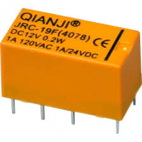 12 Volt telekom röle QIANJI JRC-19F