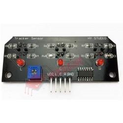 TCRT5000 3 lü sensor kartı ( Çizgi izleyen sensor kartı )